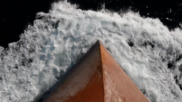 ship's bow - hull stock videos & royalty-free footage