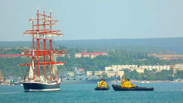 Schiffe in der Bucht