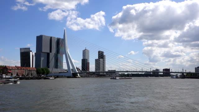 vídeos y material grabado en eventos de stock de barcos de vela en el puerto de rotterdam - rotterdam