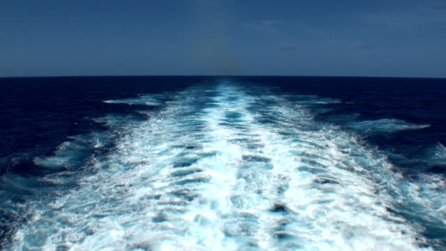 Ships Wake - Trans-Atlantic Crossing