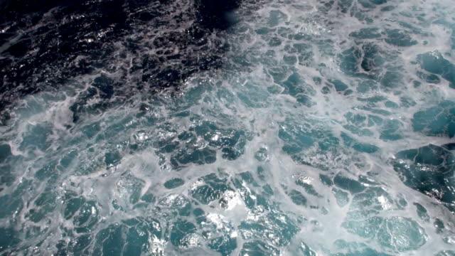 Navi Wake-Trans-Atlantic Crossing