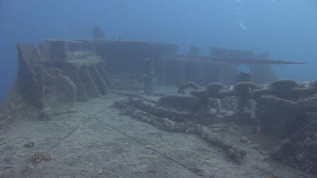 shipwreck ss thistlegorm - film montage stock videos & royalty-free footage
