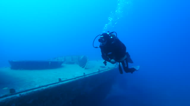 shipwreck  underwater - scuba diving stock videos & royalty-free footage