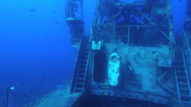 shipwreck  underwater - 紅海点の映像素材/bロール