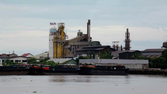 shipyard and industrial area - bangkok stock videos & royalty-free footage