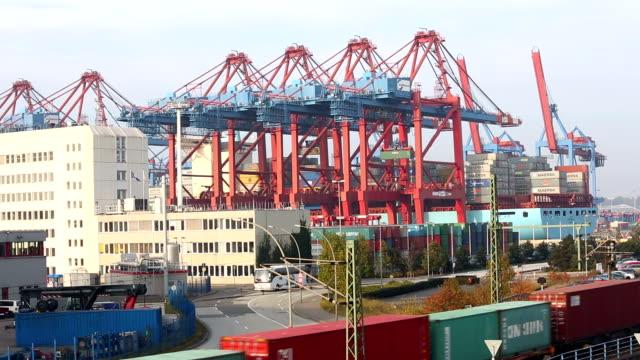 Shipyard in Hamburg