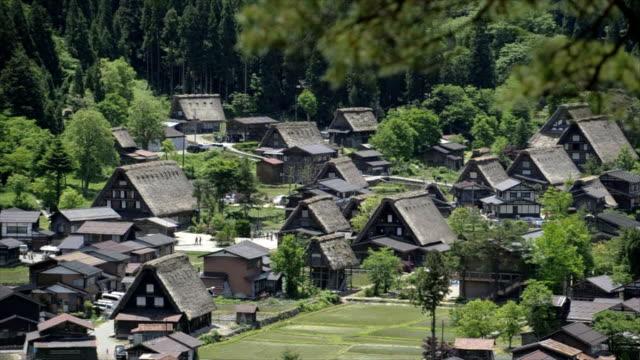 白川郷、日本 - 村点の映像素材/bロール