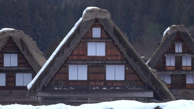 stockvideo's en b-roll-footage met shirakawago dorp, japan - traditie