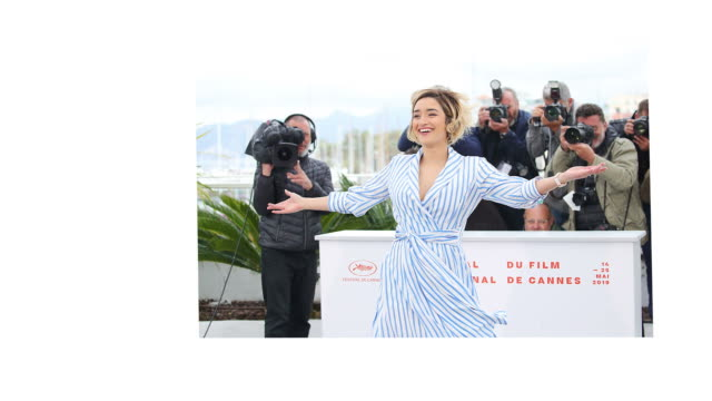Shirine Boutella attends the Papicha Photocall during the 72nd annual Cannes Film Festival on May 17 2019 in Cannes France