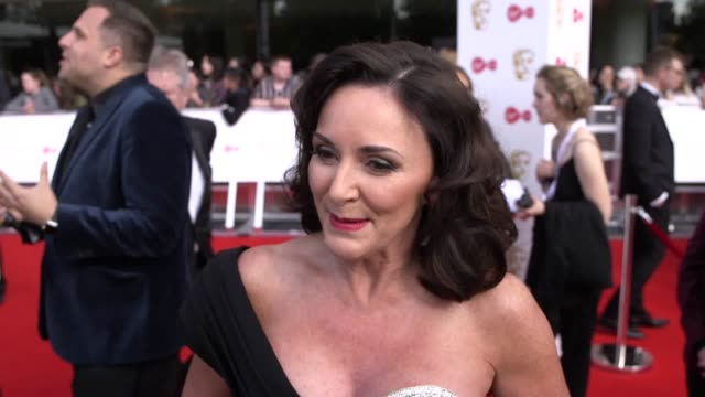 shirley ballas the bbc's strictly come dancing speaks at the bafta's in london and discusses who will replace darcey bussell as the new judge. - ストリクトリーカムダンシング点の映像素材/bロール