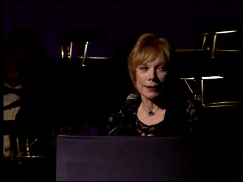 Shirley MacLaine at the American Cinema Awards at the Biltmore Hotel in Los Angeles California on November 2 1996