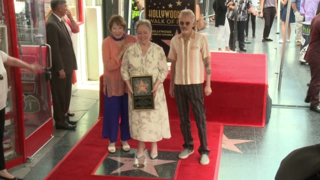 Shirley MacLaine Kathy Bates and Billy Bob Thornton at Kathy Bates Honored With Star On The Hollywood Walk Of Fame at Hollywood Walk Of Fame on...
