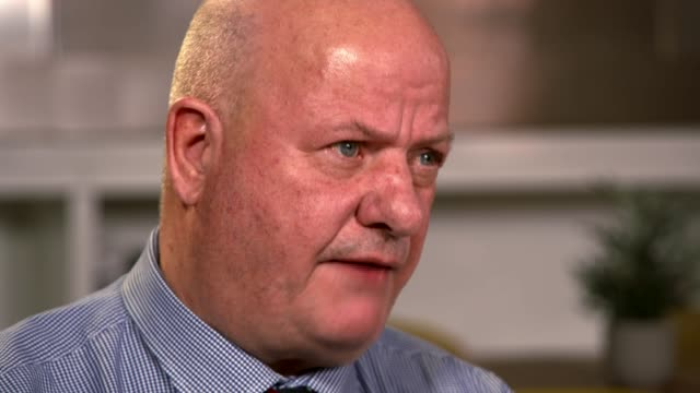 Shocking number of military personnel and veterans commit suicide amidst fears that PTSD support is lacking ENGLAND INT Derek Hunt interview SOT...