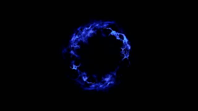 shockwave explosion blue+alpha - supernova stock videos & royalty-free footage