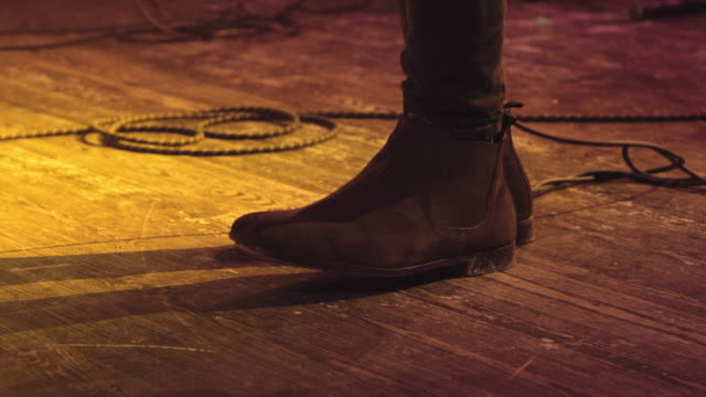 shoe on concert - rhythm stock videos and b-roll footage