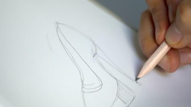 靴のデザイン - 仕立て屋点の映像素材/bロール