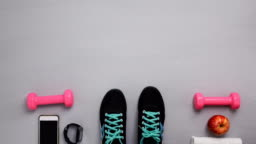 shoes stop motion