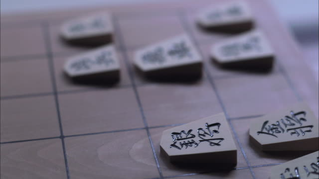 Shogi Japanese chess game