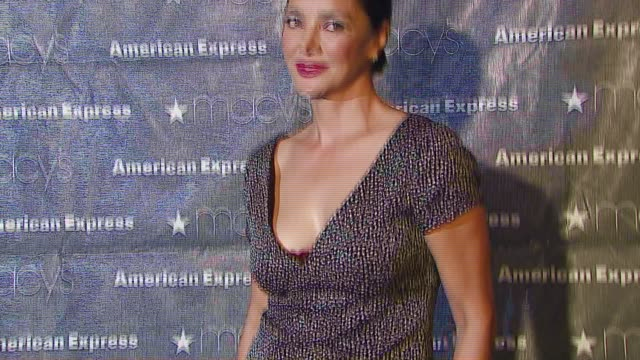 Shohreh Aghdashloo at the Macy's Passport Gala 2006 at Santa Monica Airport's Barker Hanger in Santa Monica California on September 28 2006