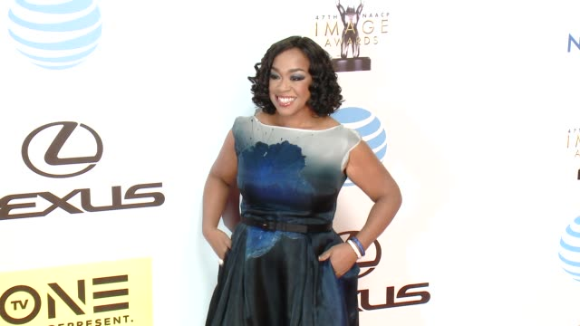Shonda Rhimes at 47th NAACP Image Awards in Los Angeles CA
