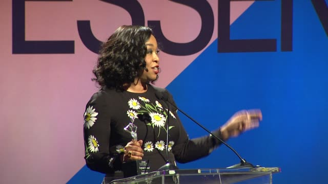 SPEECH Shonda Rhimes at 9th Annual ESSENCE Black Women In Hollywood Luncheon in Los Angeles CA