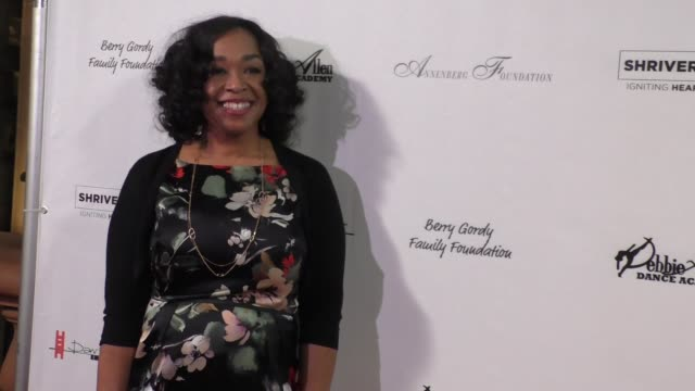 shonda rhimes at the wallis annenberg center for the performing arts presents u.s. premiere of debbie allen's freeze frame in beverly hills in... - debbie allen stock videos & royalty-free footage