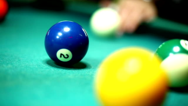 shooting pool. - eight ball stock videos & royalty-free footage