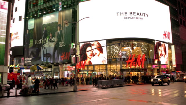 H&M shop on Time Square
