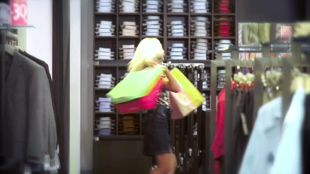 hd: shopaholic - shopaholic stock videos & royalty-free footage