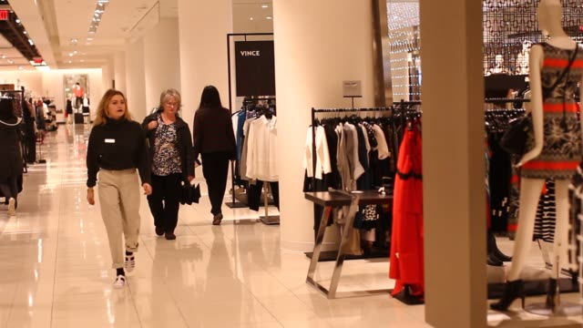 A shopper browses dresses in a Nordstrom Inc store in downtown Vancouver British Columbia Canada on Wednesday Feb 17 2016 Nordstrom Inc is scheduled...