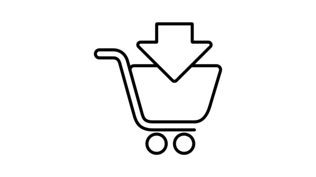 Shopping and logistic - Simple Animated Icons