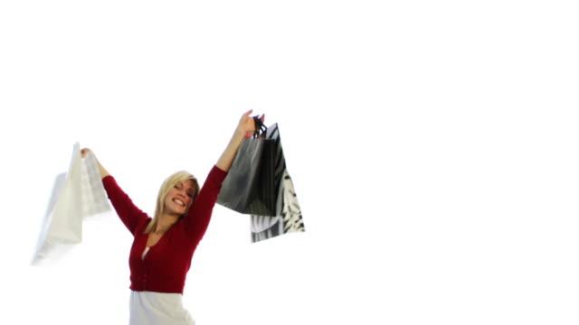 Shopping Bags Girl