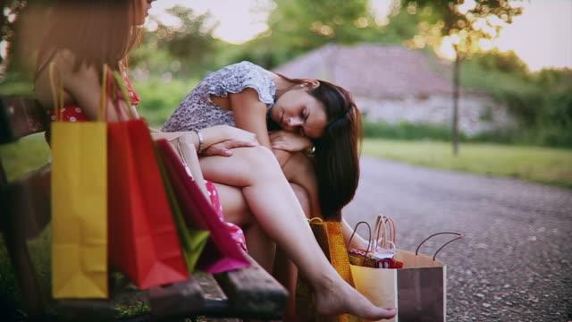 shopping break - broken leg stock videos & royalty-free footage