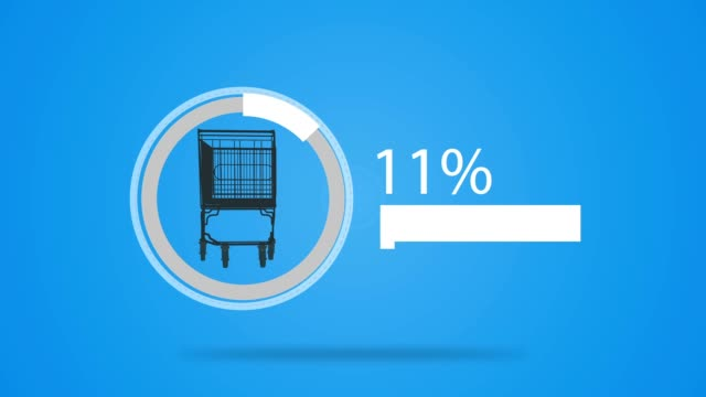 shopping cart loading - buy single word stock videos & royalty-free footage