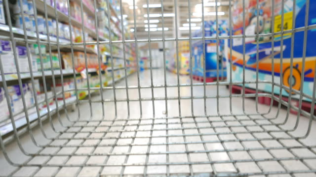 HD Shopping cart timelapse