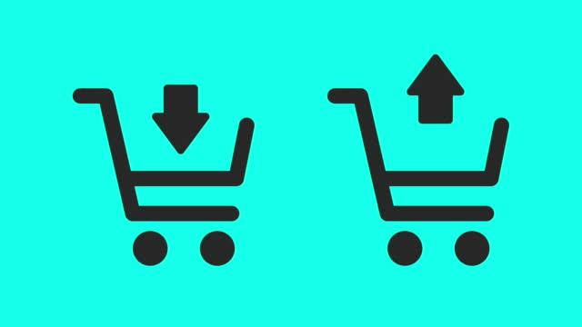 Shopping Cart - Vector Animate