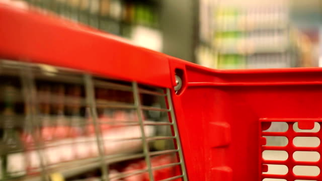 shopping cart - shopping trolley stock videos & royalty-free footage