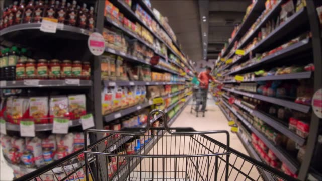 shopping cart - price stock videos & royalty-free footage