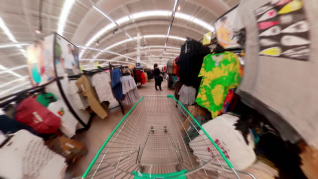 shopping cart view of grocery - direction stock videos & royalty-free footage