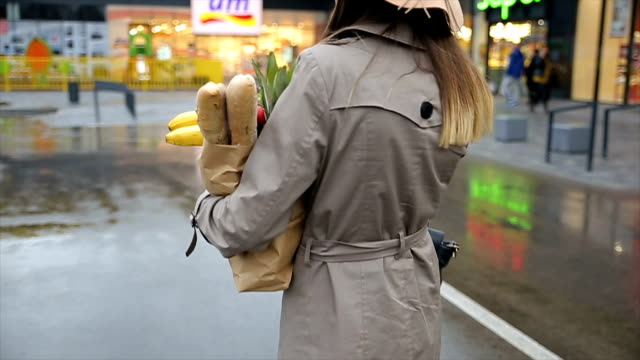 vídeos de stock, filmes e b-roll de compras de mercearia - carrying