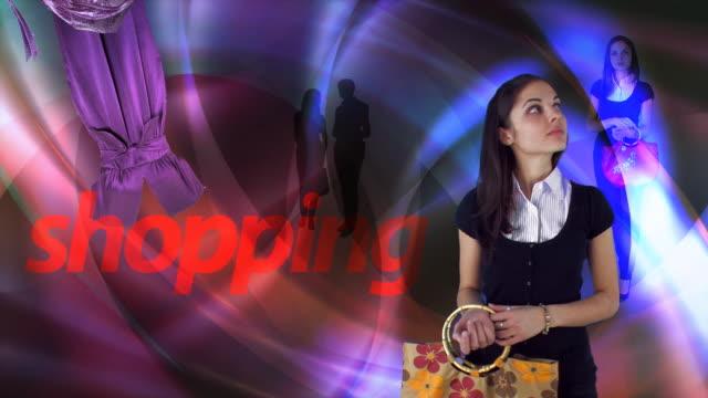 ショッピングの女性 - サンダル点の映像素材/bロール