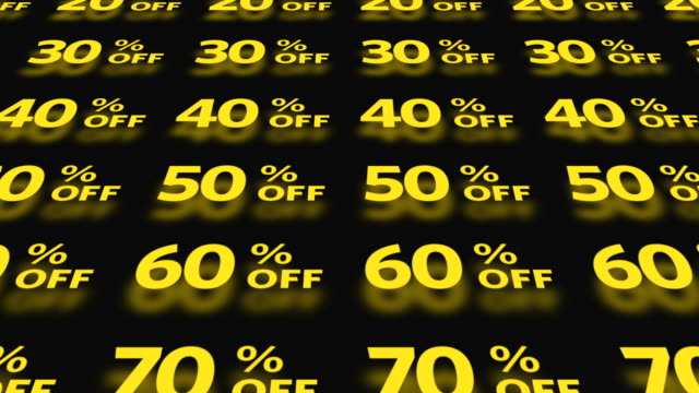 shopping icons set - sale stock videos & royalty-free footage