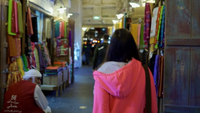 shopping in an old market - souk stock videos & royalty-free footage