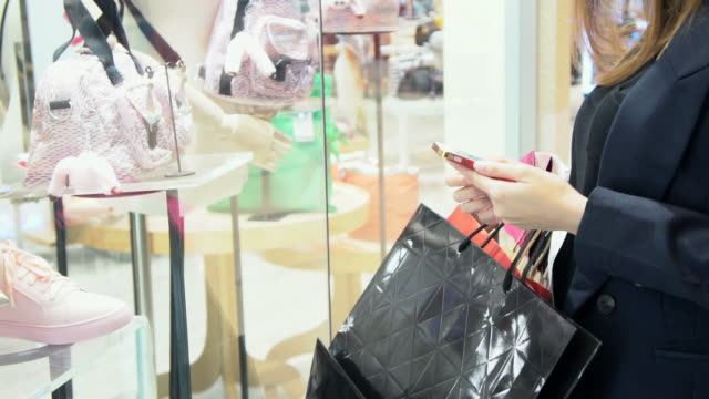 shopping in slow motion. - satisfaction stock videos & royalty-free footage