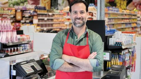 vídeos y material grabado en eventos de stock de compras en supermercado - hispanoamérica