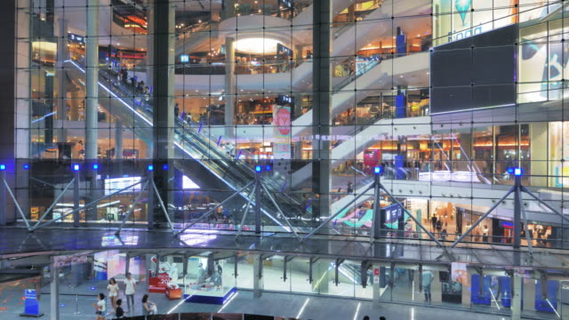 Shopping Mall Escalator,Real time