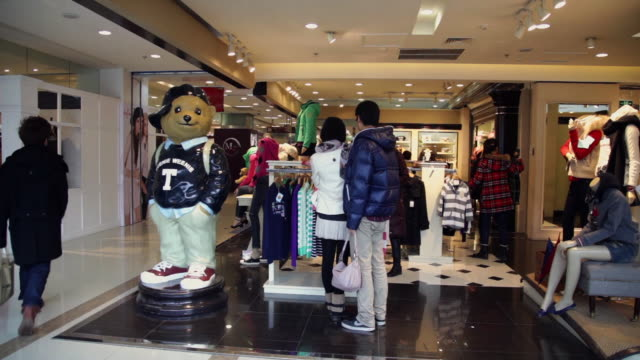 ms shopping mall interior / xi'an, shaanxi, china - animal representation stock videos and b-roll footage