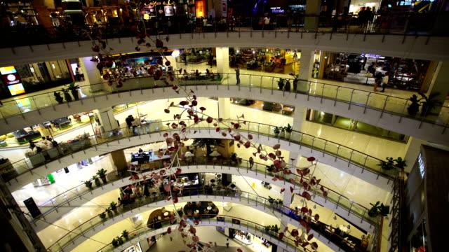 ショッピングモール - トロント点の映像素材/bロール
