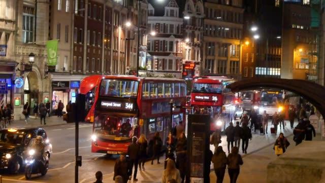 4K Shopping on Oxford street Christmas, London