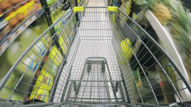 shopping - time lapse - cart stock videos & royalty-free footage